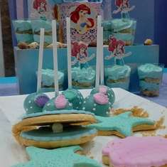 Little Mermaid birthday party - SIRENITA