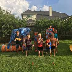 P's Nerf Out Party - Nerf Gun War