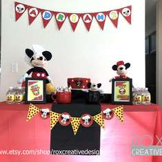 Mickey Pizza Party - Mickey Mouse