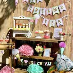 Ice Cream Themed Engagement Party - None