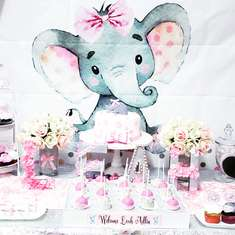 Elephant Baby Shower - None
