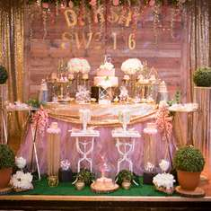 Sweet 16 birthday party - Rustic Fairy Theme