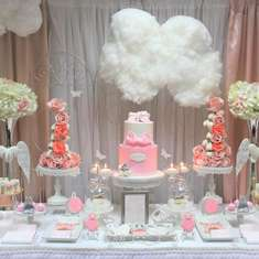 Marthe's Heaven Sent Baby shower  - Angel / Heaven