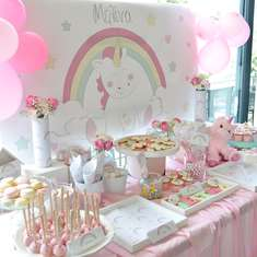 Melina's Unicorn Baptism Party - Unicorn