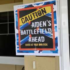 Aiden's 8th Nerf War Party - Nerf