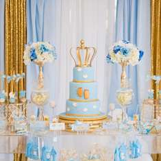 Royal Star Baby Shower - Baby on the way