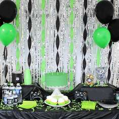 Video Gamer Birthday Party  - Gamer