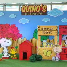 Quino's Snoopy Street Fair Birthday Party - Peanuts & the Gang