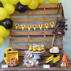 Construction Themed Birthday Party - Construction