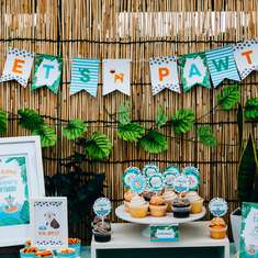 Bow Wow Luau // Tropical Puppy Party - Dogs / Puppies