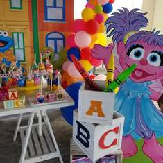Dream's 1st Sesame Street Party  - Sesame Street