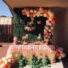 Cindy's  whimsical Baby Shower  - Bambi