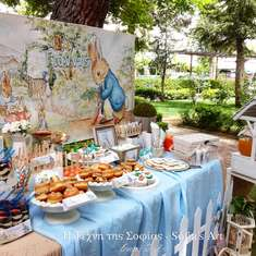 Little John's Peter Rabbit Themed Baptism Party - Peter Rabbit