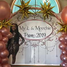 Rose gold themed Prom - Prom