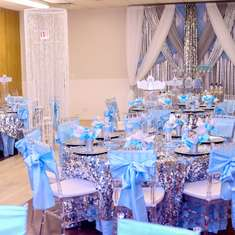 Frozen adult themed 50th birthday party - Frozen