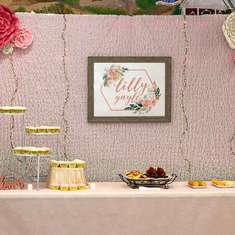 Lilly Gayle's Baby Shower - Pink Floral