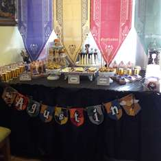 Agustín's Harry Potter birthday party - Harry Potter