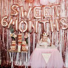 Sweet 6 Months Glam Circus party - Circus / Carnival