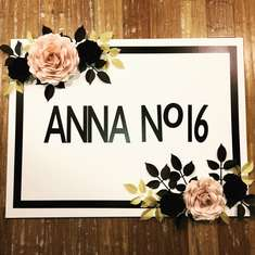 Anna's Sweet 16 Chanel Blush Pink White Gold Black Birthday Party - Chanel