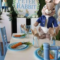 Peter Rabbit Birthday Party - Peter Rabbit