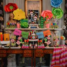 Antony's Frida Kahlo birthday party - Frida Kahlo - Mexican