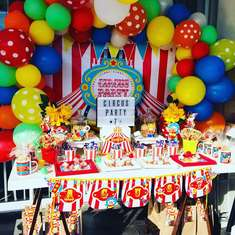 Vintage Circus birthday party - CIRCUS PARTY