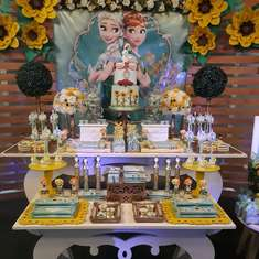 Guadalupe's 3rd Frozen Fever birthday party - 3th years - Guadalupe - Frozen Fever