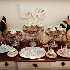 Shabby Chic birthday party - Tea Party