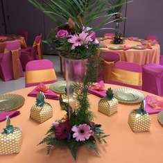78th Luau Birthday Party - Tropical