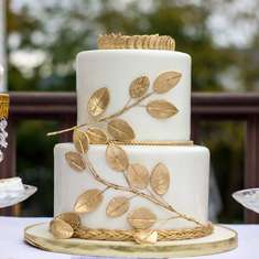 Grecian Gold and Blue Baby shower - Grecian