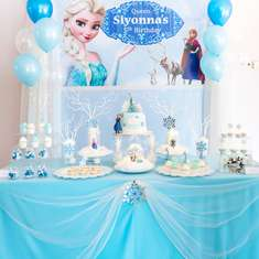 Frozen Birthday Party - Frozen Theme