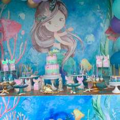 Under the watercolor sea! Lelani's Mermaid dreams! - Mermaid