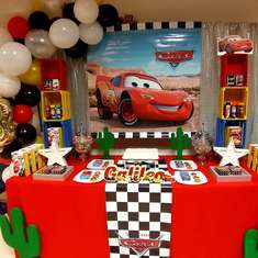 Galileo's Disney Cars Birthday Party - Cars (Disney movie)