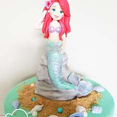 Magical under the sea mermaid birthday party - fondo del mar