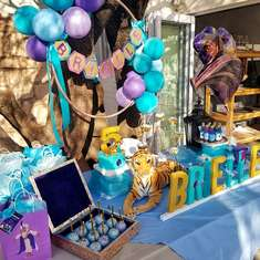 Brielle's Princess Jasmine Inspired Party - Aladdin