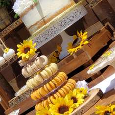 Arianna and Andrea's 1st communion  - Sunflower Theme