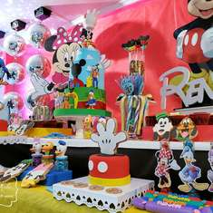 Renata's Mickey and Friends 1st birthday party - Mickey y sus amigos