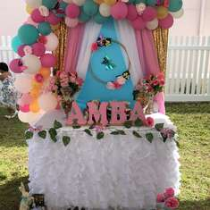 Amba's Big 10!  - Buterflies and bunnies tea party