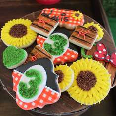 Kalis Minnie Sunflower Garden  - Minnie