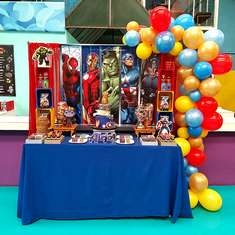 Avengers birthday party - Advengers