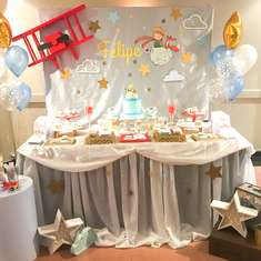 A Little Prince birthday party - El Principito