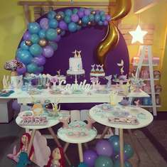 Under the Sea birthday party - Bajo del Mar