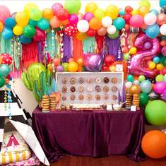 Maddie's TWO Wild Boho Birthday Brunch - Bright Boho Birthday Brunch