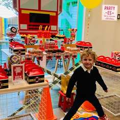 Fire Truck Birthday Party - Fire Truck / Firefighter