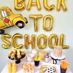 Back to School Breakfast Party - Back to School
