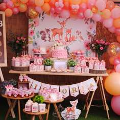 Victoria's Woodland Baby Shower - Animals