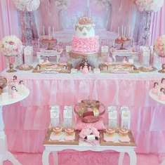 Pink Princess Birthday Party - Princess