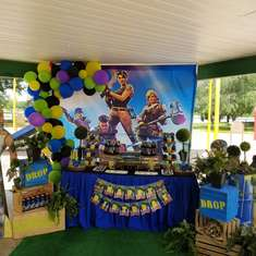 Fortnite Themed Party  - Fortnite