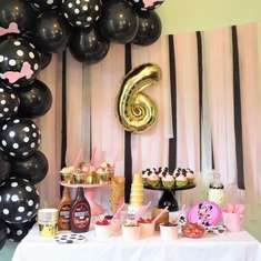 Minnie Mouse 6th Birthday Party - Minnie Mouse