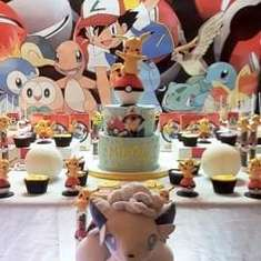 Pikachu birthday party - Pokemon